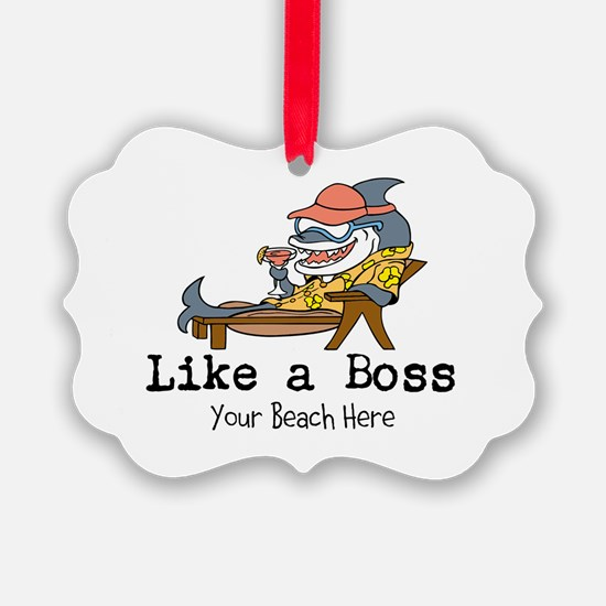 Like a Boss Ornament