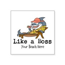 Like a Boss Sticker