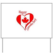 CANADA DAY Yard Sign
