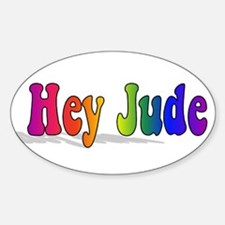 Cute Jude Sticker (Oval)