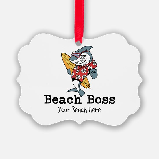 Beach Boss Ornament