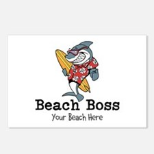 Beach Boss Postcards (Package of 8)