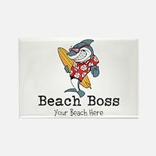 Beach Boss Magnets
