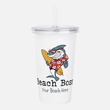 Beach Boss Acrylic Double-wall Tumbler