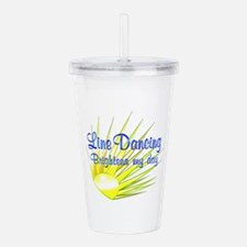 Line Dancing Brightens Acrylic Double-wall Tumbler