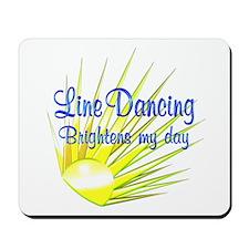 Line Dancing Brightens Mousepad