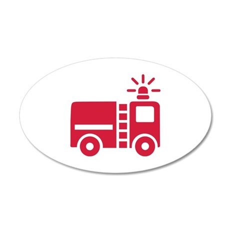 fire truck wall sticker by giftuniverse firetruck wall art firetruck wall decor