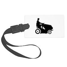 Lawn mower driver Luggage Tag