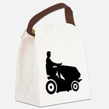 Lawn mower driver Canvas Lunch Bag