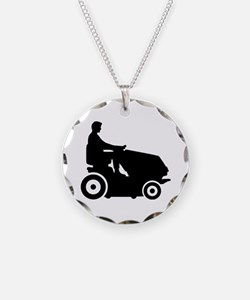 Lawn mower driver Necklace