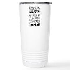 Unique Handball Travel Mug