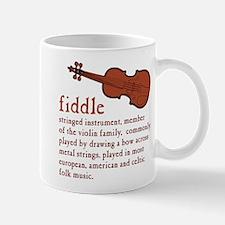 Fiddle Definition T-Shirt Mugs
