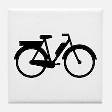 Moped Motorbike Tile Coaster