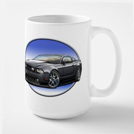GT Stang Black Mugs