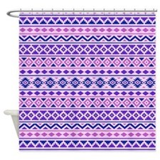 Aztec Essence (ii) Pbp Shower Curtain