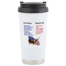 Cute Funny republican Travel Mug