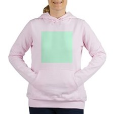 cute mint green Women's Hooded Sweatshirt