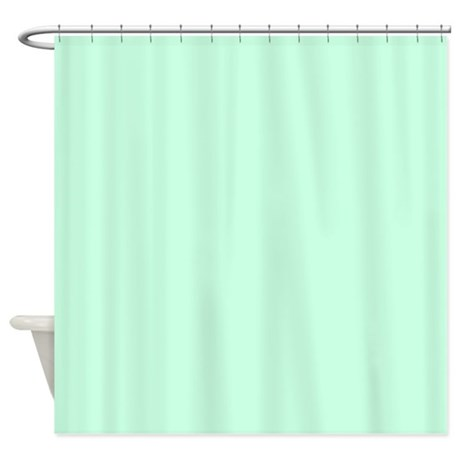 cute mint green shower curtain by admin cp62325139