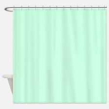 cute mint green Shower Curtain