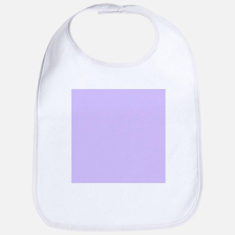 girly modern lilac purple Bib
