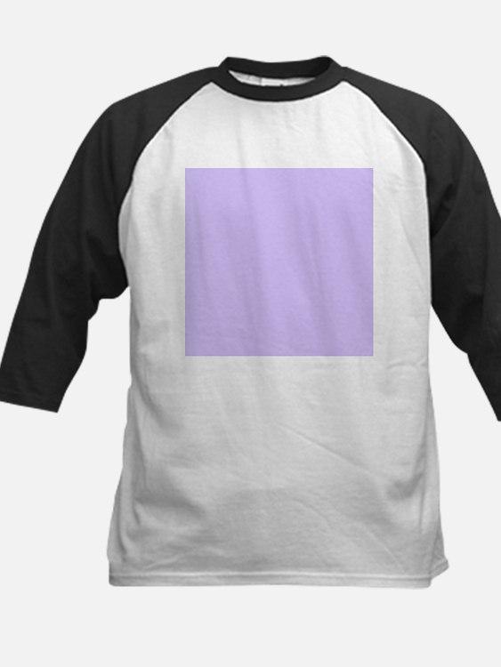 girly modern lilac purple Baseball Jersey