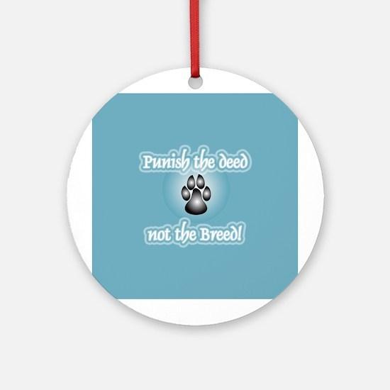 Anti Breed-Specific Legislation Ornament (Round)