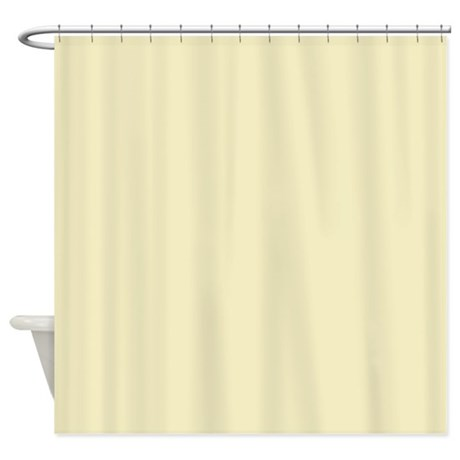 Modern Light Yellow Shower Curtain By ADMIN CP62325139