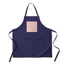 modern baby pink Apron (dark)
