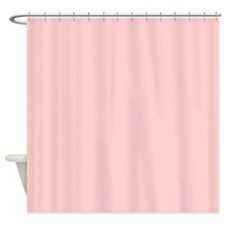 modern baby pink Shower Curtain