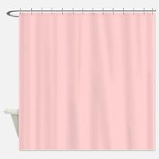 modern baby pink Shower Curtain
