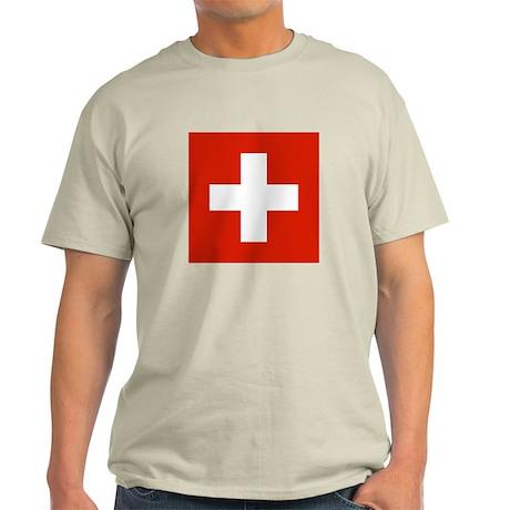 Swiss Flag Light T-Shirt