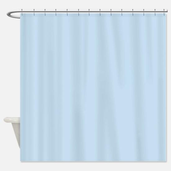 modern chic light blue Shower Curtain