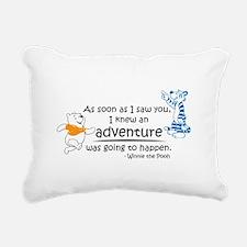 Cartoon Winnie The Pooh Rectangular Canvas Pillow