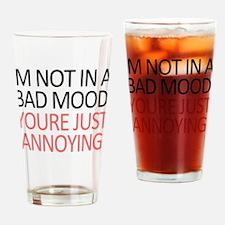Bad Mood Drinking Glass