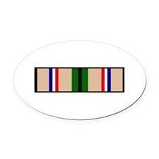 DESERT STORM RIBBON Oval Car Magnet