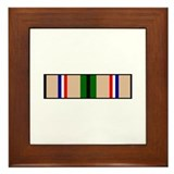 Desert storm ribbons Framed Tiles