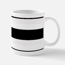 Black and White Stripes Striped Horizon Mug