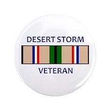 """DESERT STORM VETERAN 3.5"""" Button (100 pack)"""