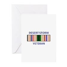 DESERT STORM VETERAN Greeting Cards