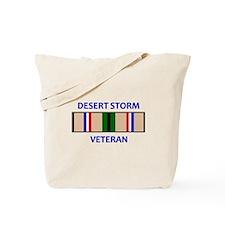 DESERT STORM VETERAN Tote Bag