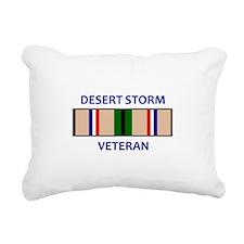 DESERT STORM VETERAN Rectangular Canvas Pillow