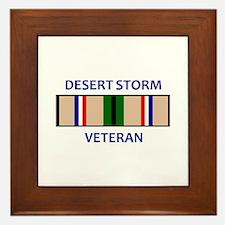DESERT STORM VETERAN Framed Tile