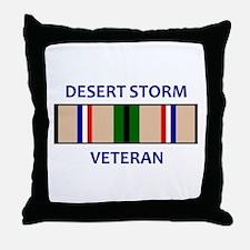 DESERT STORM VETERAN Throw Pillow