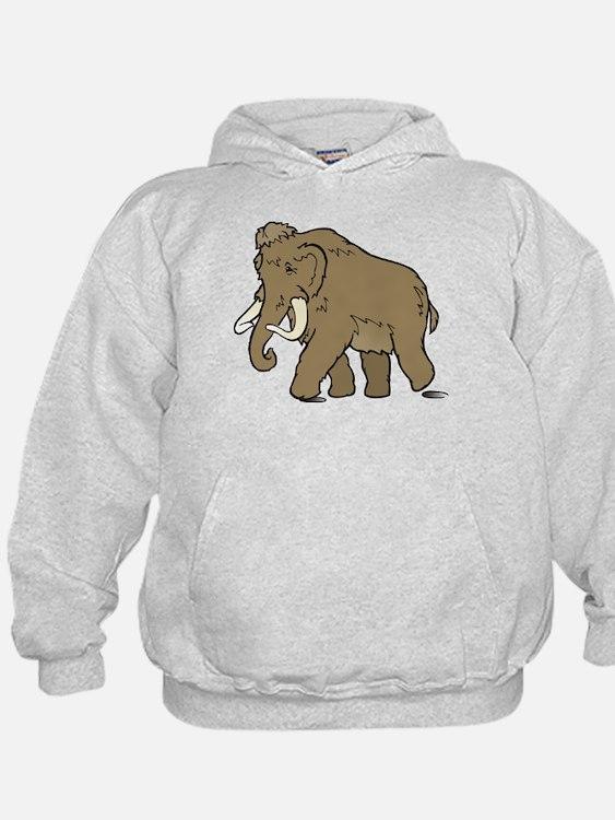 Cute Woolly Mammoth Hoodie