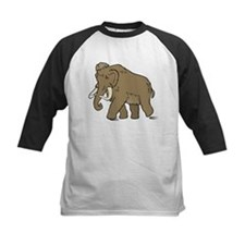 Cute Woolly Mammoth Baseball Jersey