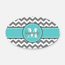 Create Your Own Custom Oval Car Magnet CafePress - Custom car magnets oval