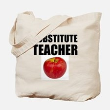 Substitute Teacher Tote Bag