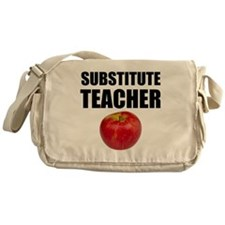 Substitute Teacher Messenger Bag