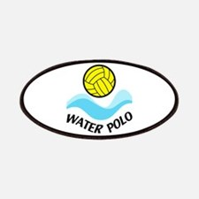 WATER POLO WAVES Patches