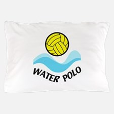 WATER POLO WAVES Pillow Case